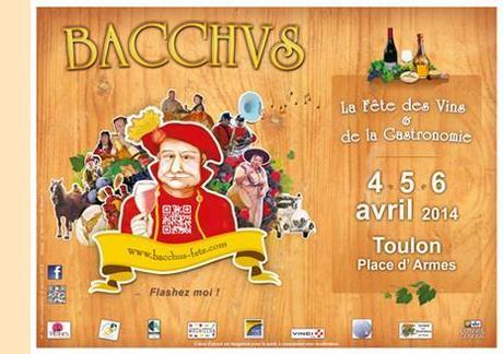 Bacchus 2014, les 4, 5 & 6 avril.