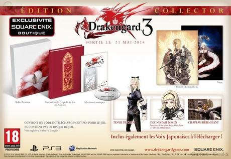 drakengard 3 collector Drakengard 3 : le collector  PS3 Drakengard 3 collector