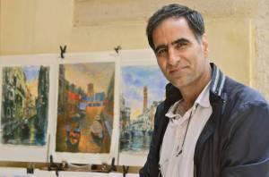 Aras Kefayati, peintre des rues