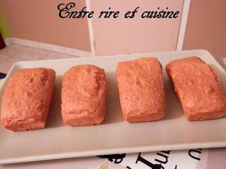 Petits cakes goût framboise au Tofu soyeux (sans oeuf, sans beurre)