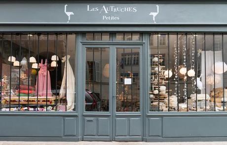 Paris – boutiques Les Autruches, cabinets de curiosités pour petits et grands