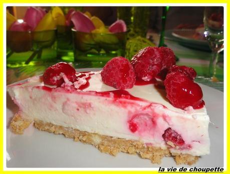 cheesecake aux framboises et au chocolat blanc-39
