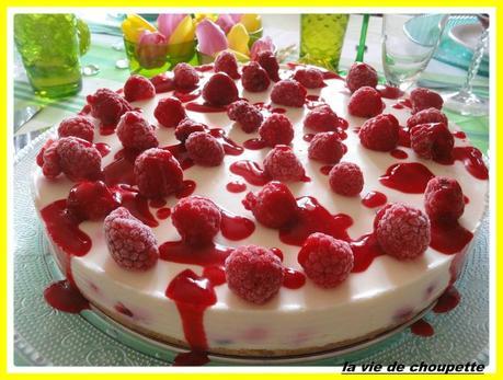 cheesecake aux framboises et au chocolat blanc-36