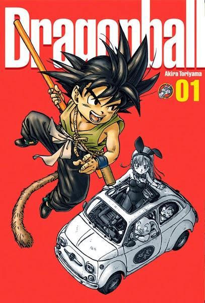 Catégorie manga: Shonen - Dragon Ball