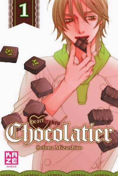 Catégorie manga: Josei - Heartbroken Chocolatier