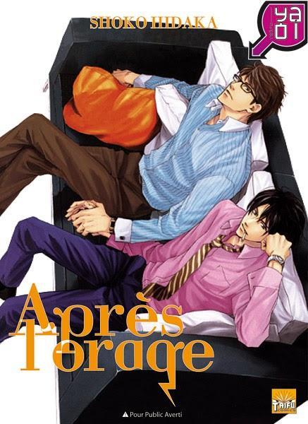 Catégorie manga: Yaoi - Après l'orage