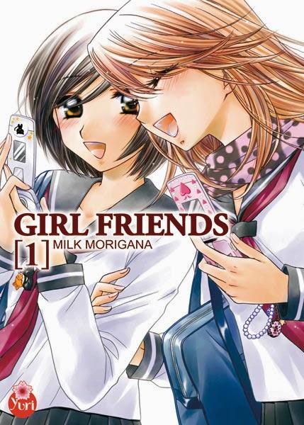 Catégorie manga: Yuri - Girl Friends