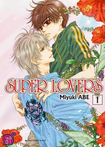 Catégorie manga: Yaoi - Super Lovers