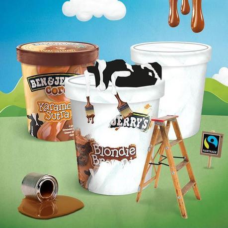 Trois innovations viennent compléter la gamme de glaces de Ben & Jerry's en 2014.