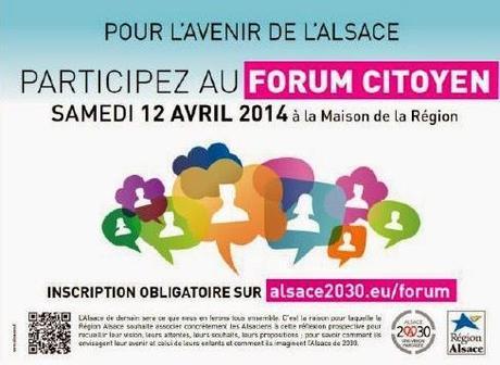 « Alsace 2030 » : parlons-en ensemble !