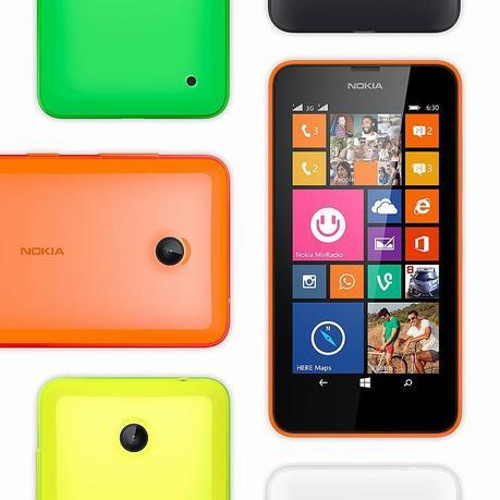 Trois nouveaux Nokia Lumia présentés !