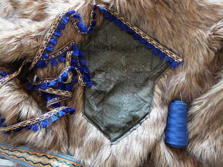 boho fur DIY 8