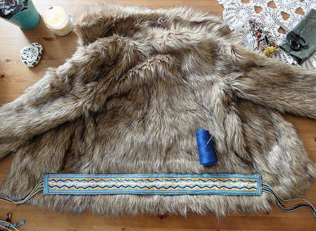 boho fur DIY 4B