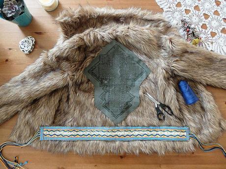 boho fur DIY 5