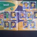 Présentation de l'album Panini pour la Coupe du monde au Brésil