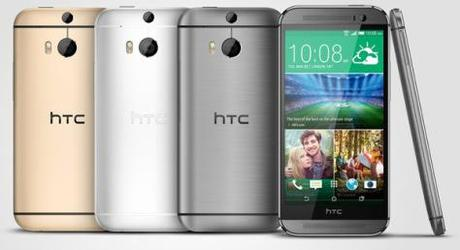 HTC-One-M8-Quatre-Coloris-Officiel