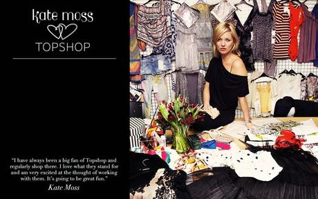La collection Kate Moss pour TopShop en image juste là en dessous...