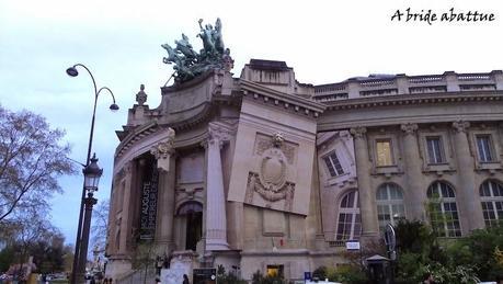 Le Grand Palais modifie sa façade
