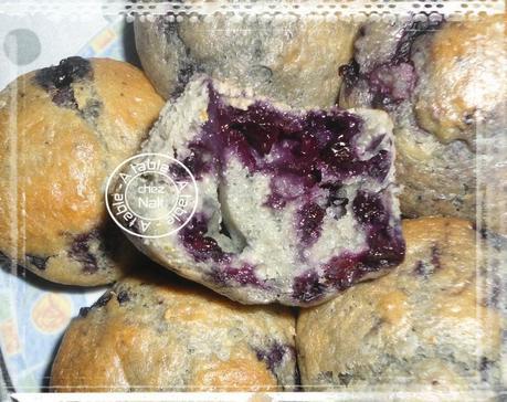 muffins aux myrtilles et orange 2