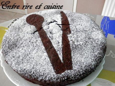 Gâteau TRES moelleux au Cacao et Crème de Coco