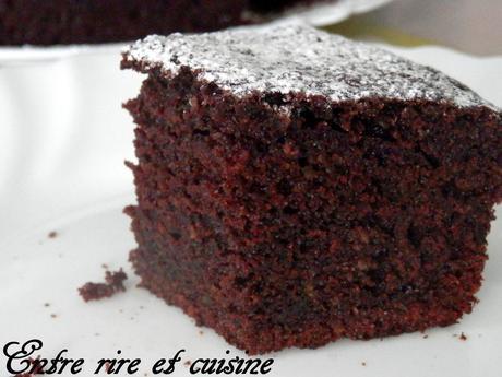 Le moelleux du gâteau est fantastique !