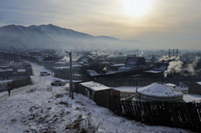 pollution,mongolie,atmosphère,santé,air,charbon,chauffage,population