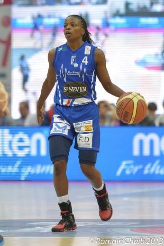 Olivia EPOUPA (Basket Landes) Romain CHAIB