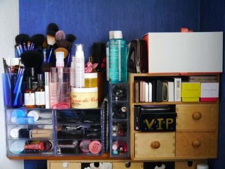 Mes solutions de rangement dans ma mini salle de bain (1)- Charonbelli's blog mode et beauté