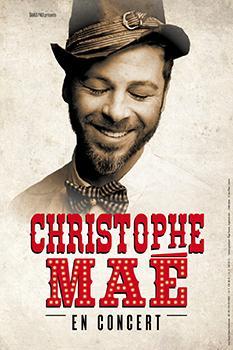 Christophe Maé ajoute de nouvelles dates à sa tournée.