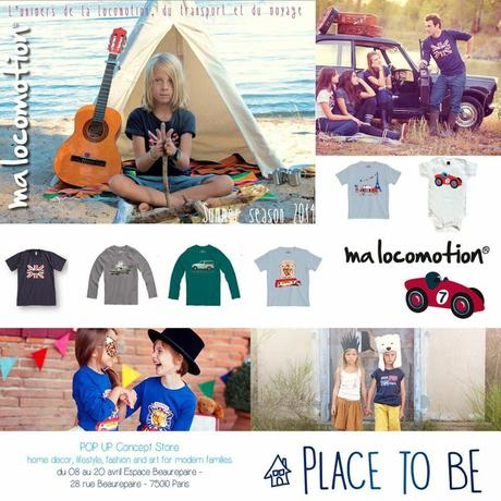 Pop-up store Place to be / Esapce Beaurepaire /