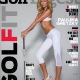 Paulina Gretsky pose en une de Golf Digest