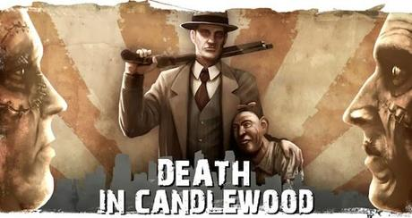 death in candlewood lance sa campagne kickstarter Death in Candlewood cherche des dons sur Kickstarter.