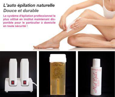 NAT'EPILS - Produits et matériels professionnels d'épilation, maquillage permanent