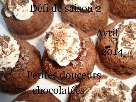 Défi de saison #2 : Petites douceurs chocolatées ( piège : forme, couleur, Pâques )