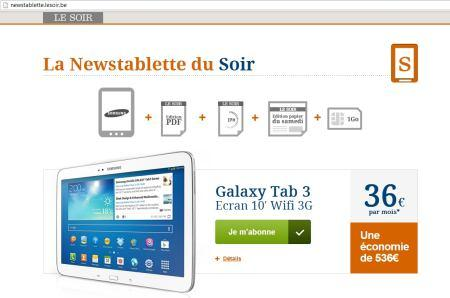 offre newstablette