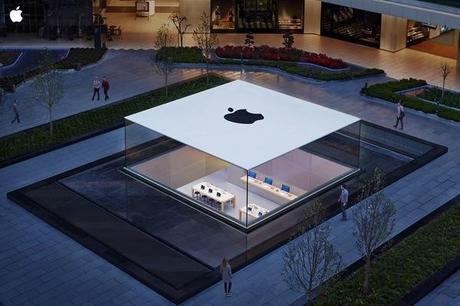 Dans quel pays se trouve cet Apple Store?