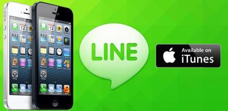 La messagerie instantanée Line sur iPhone totalise quelque 400 millions de clients