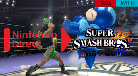 SSB. Wii U / 3DS : Un Nintendo Direct le 9 Avril !