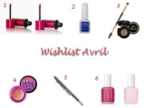Wishlst Avril 2014