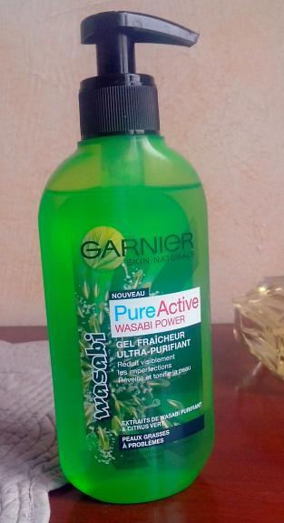 garnier pure active wasabi power