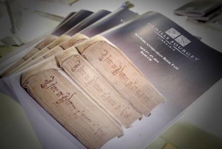 P1040782 448x300 Ouverture du Salon du Livre Ancien de New York