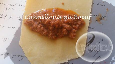 Cannellonis au boeuf 4