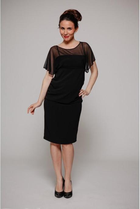 petite robe noire de grossesse Paris