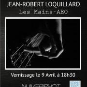 Exposition Jean-Robert Loquillard «Les mains» à Numériphot