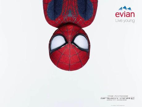 Allo, à l'eau, les super-héros? Evian rajeunit Spider-Man