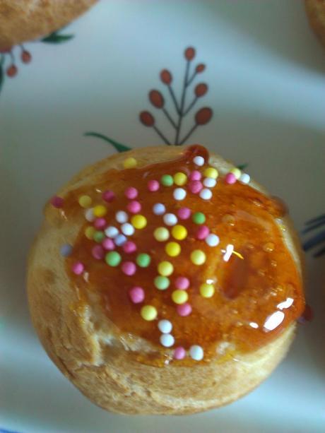 choux-choux : choux à la crème parce que c'est vraiment trop bon