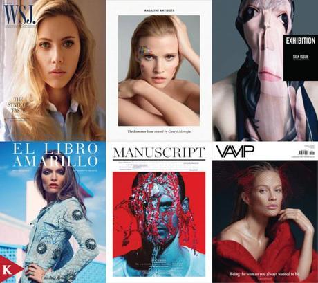 fashion cover-april 2014-WSJ Magazine-Antidote-EXHIBITION-El Libro Amarillo-Manuscript-VAMP