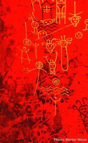 Bertin Nivor Petroglyphur