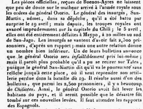 Quand le destin de l'Amérique du Sud basculait, la France légitimiste regardait, incrédule et perplexe [Disques & Livres]