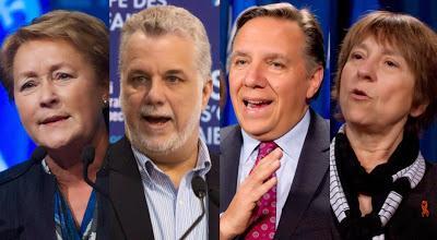 ÉLECTIONS QUÉBEC 2014 - Prédictions du vote...